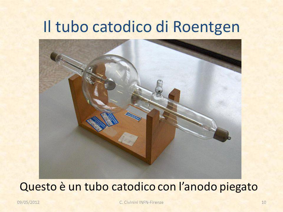 Il tubo catodico di Roentgen