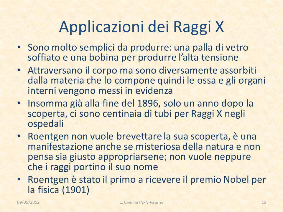 Applicazioni dei Raggi X