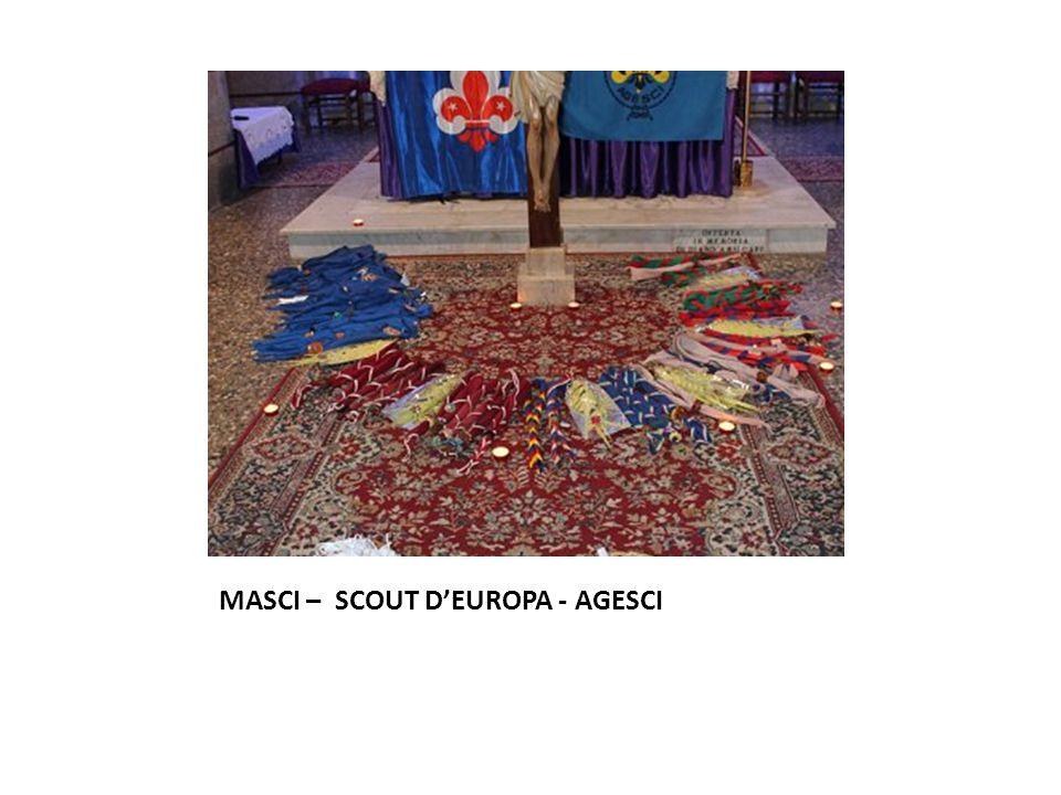 MASCI – SCOUT D'EUROPA - AGESCI