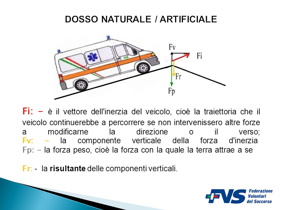 DOSSO NATURALE / ARTIFICIALE