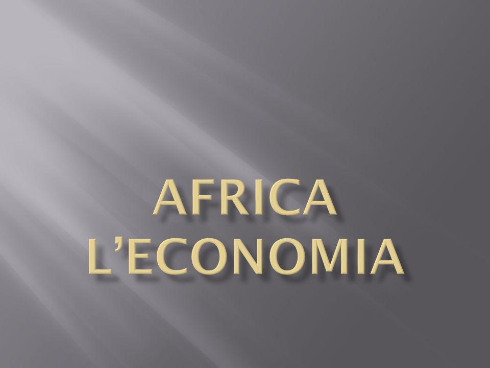 AFRICA L'economia