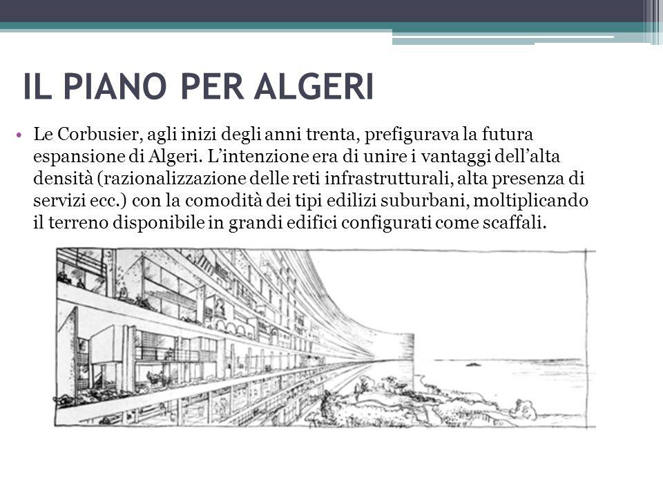 IL PIANO PER ALGERI