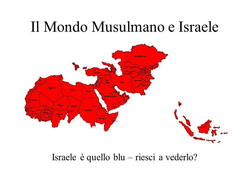 Il Mondo Musulmano e Israele