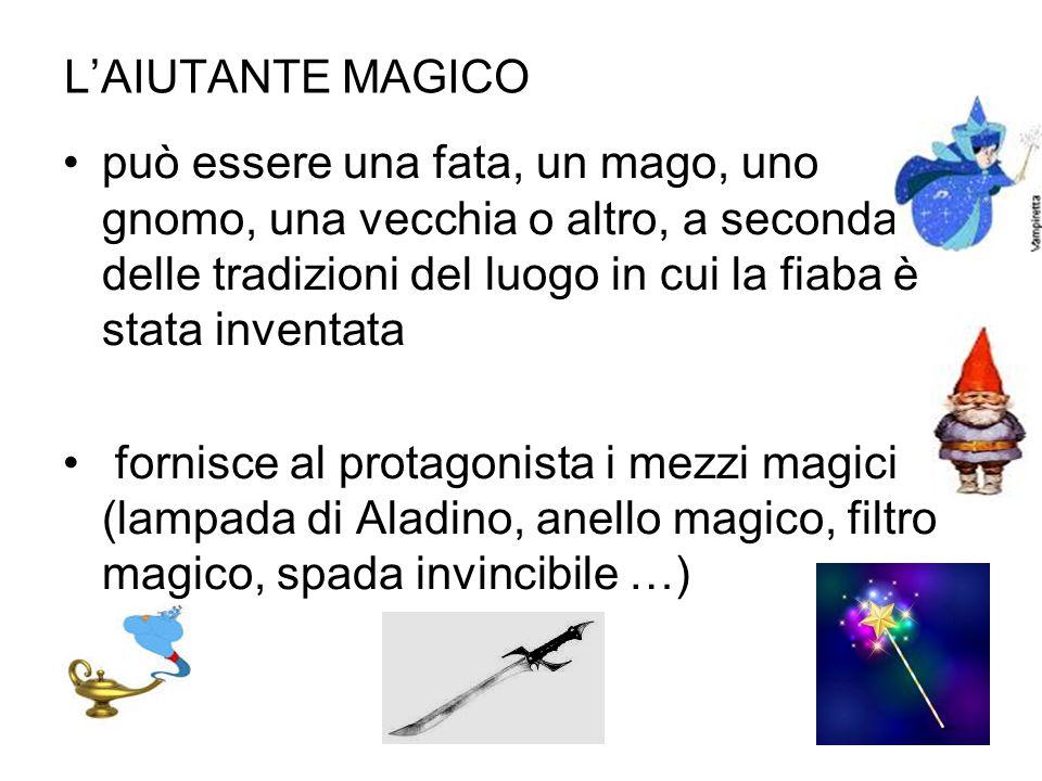 L'AIUTANTE MAGICO