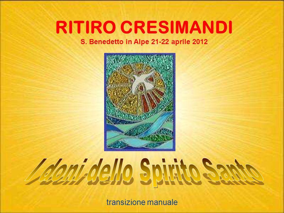 S. Benedetto in Alpe 21-22 aprile 2012