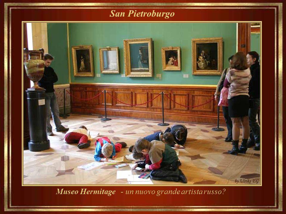 Museo Hermitage - un nuovo grande artista russo