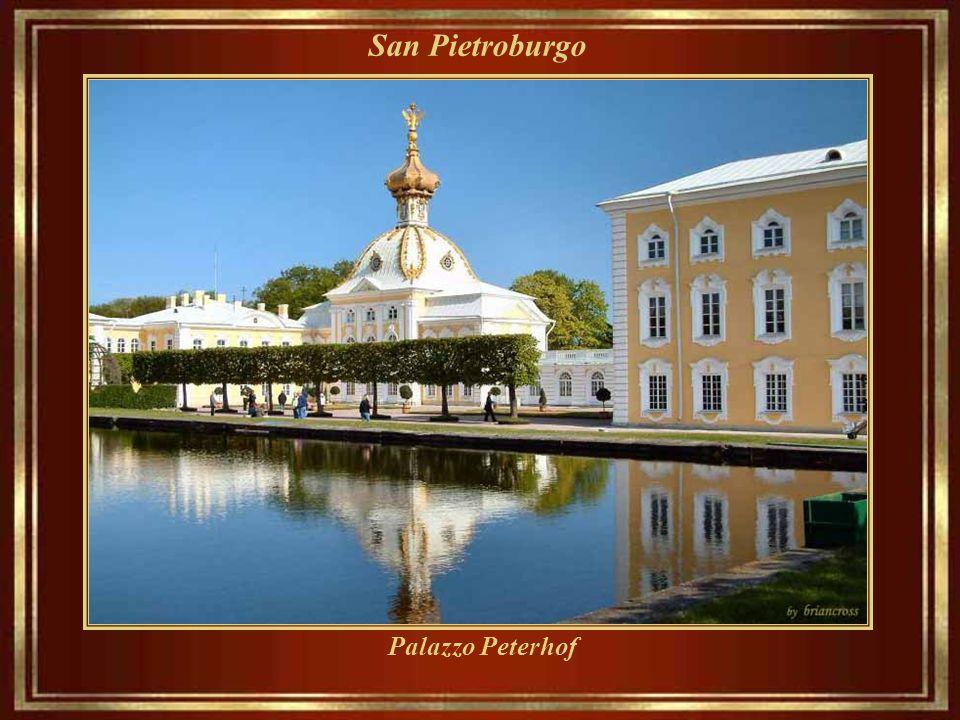 San Pietroburgo Palazzo Peterhof