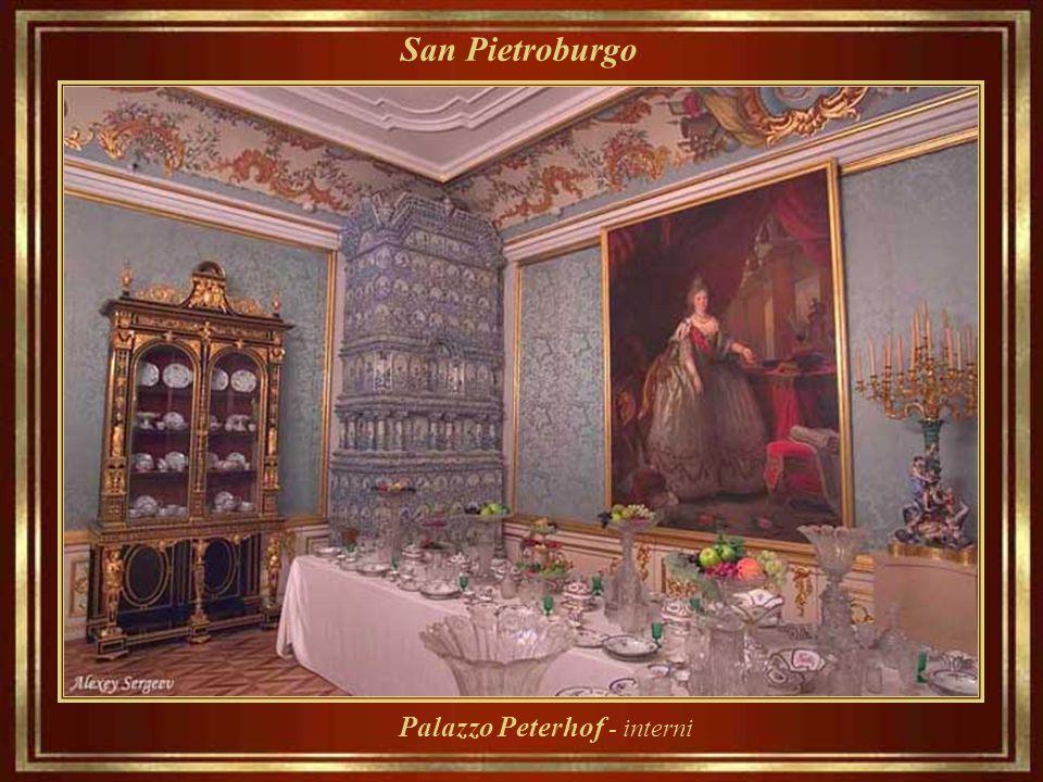 Palazzo Peterhof - interni