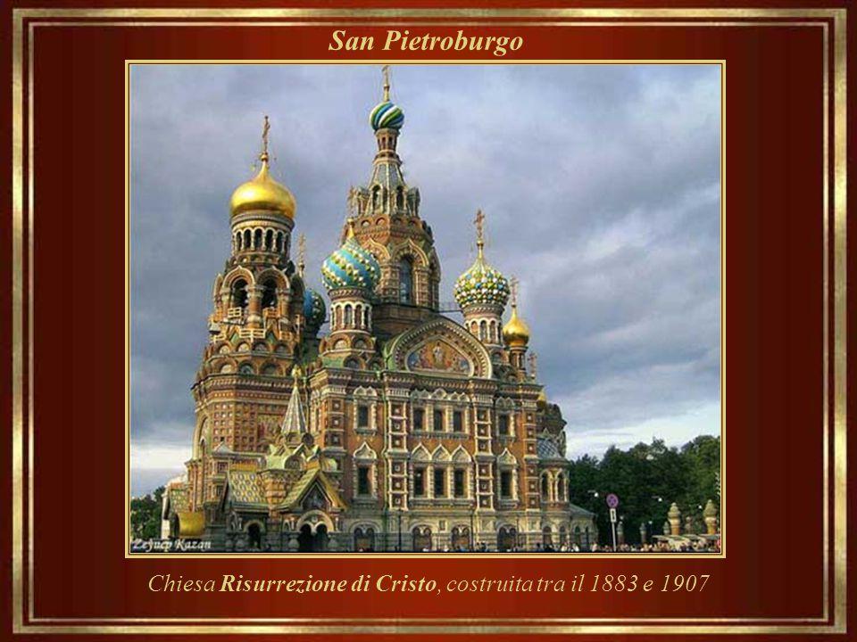 Chiesa Risurrezione di Cristo, costruita tra il 1883 e 1907