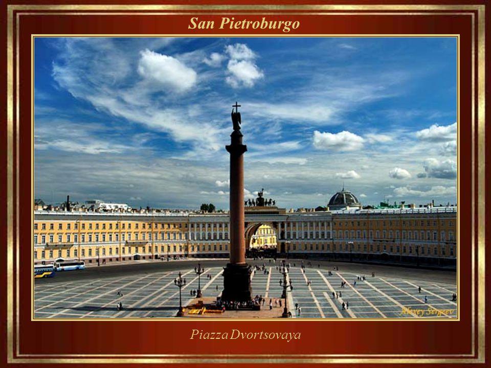 San Pietroburgo Piazza Dvortsovaya