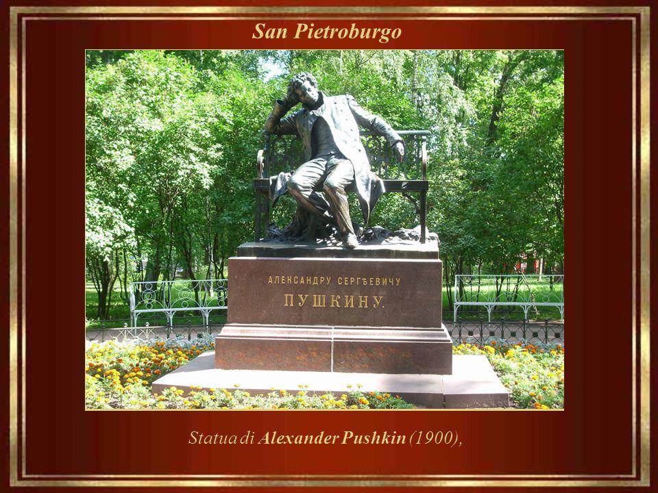 Statua di Alexander Pushkin (1900),