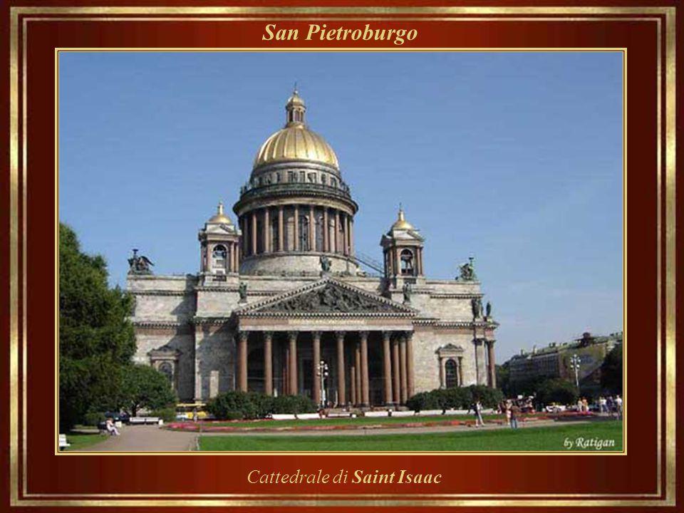 San Pietroburgo Cattedrale di Saint Isaac