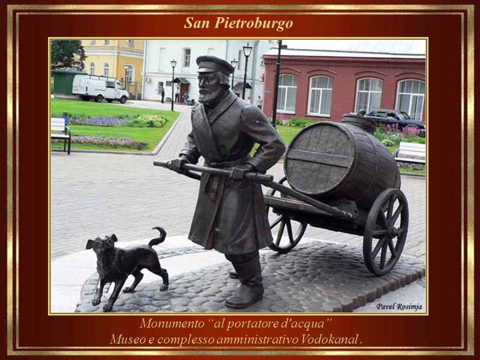 San Pietroburgo Monumento al portatore d acqua