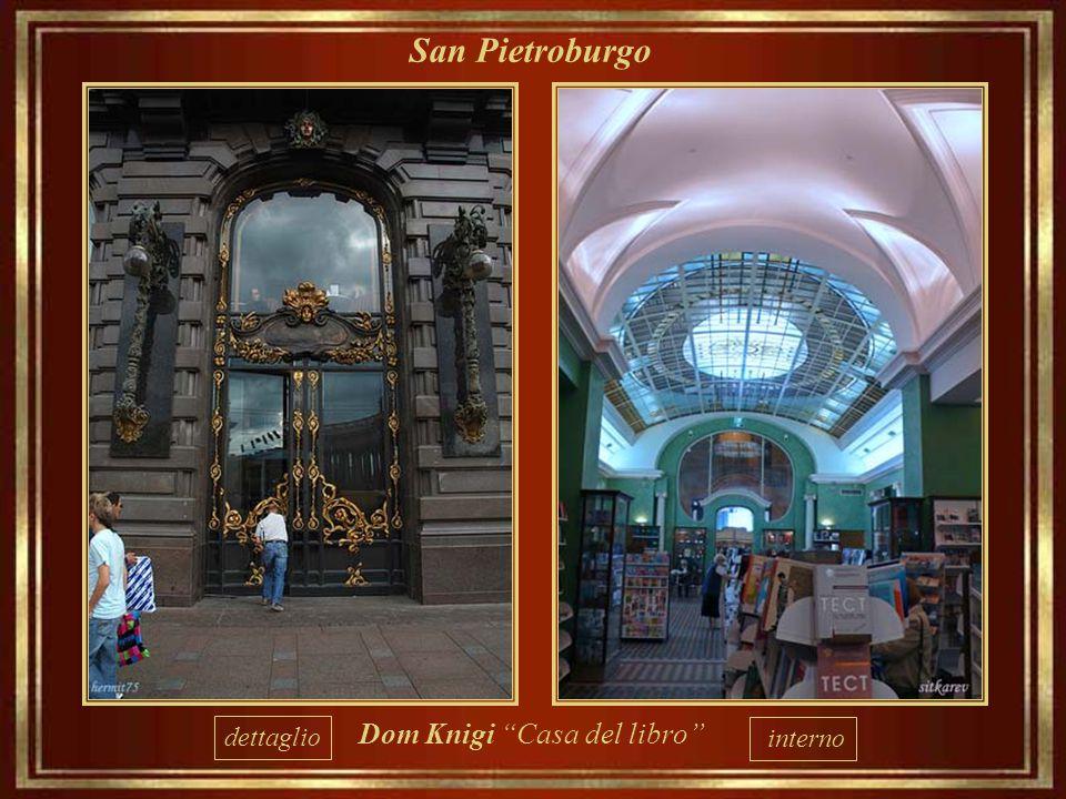 San Pietroburgo dettaglio Dom Knigi Casa del libro interno