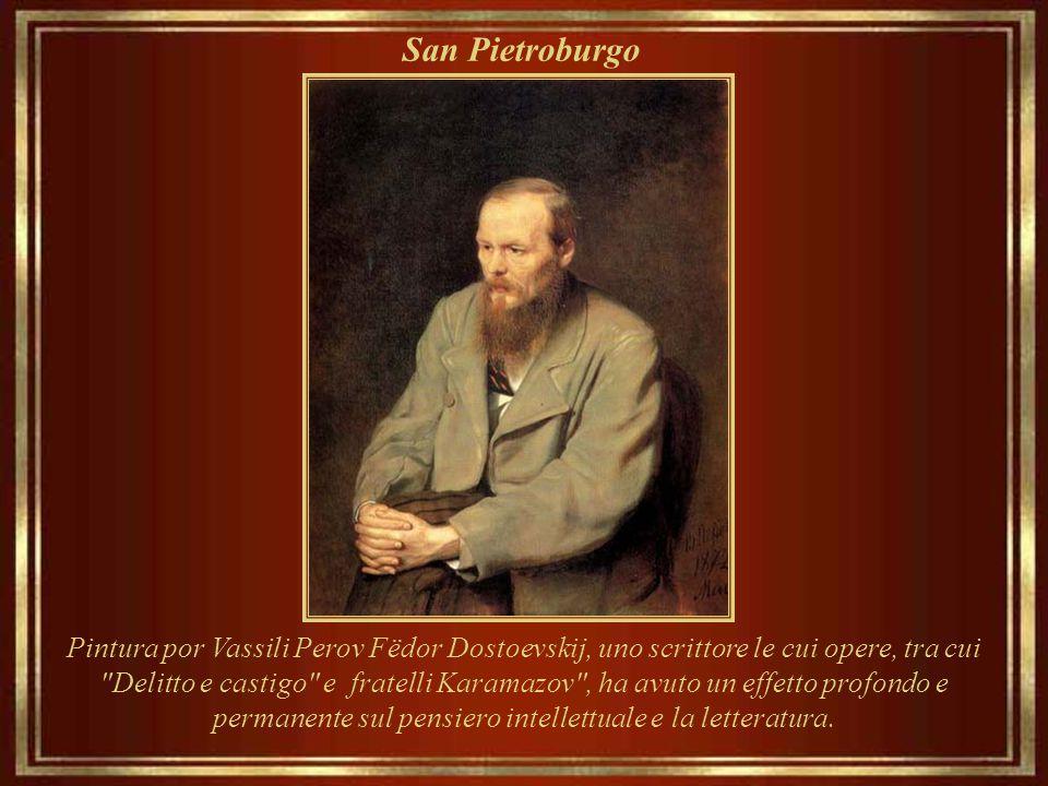 San Pietroburgo Pintura por Vassili Perov Fëdor Dostoevskij, uno scrittore le cui opere, tra cui.