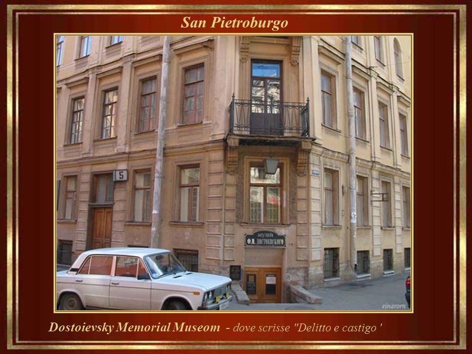 San Pietroburgo Dostoievsky Memorial Museom - dove scrisse Delitto e castigo