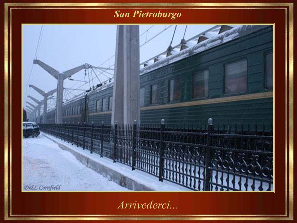 San Pietroburgo Arrivederci...