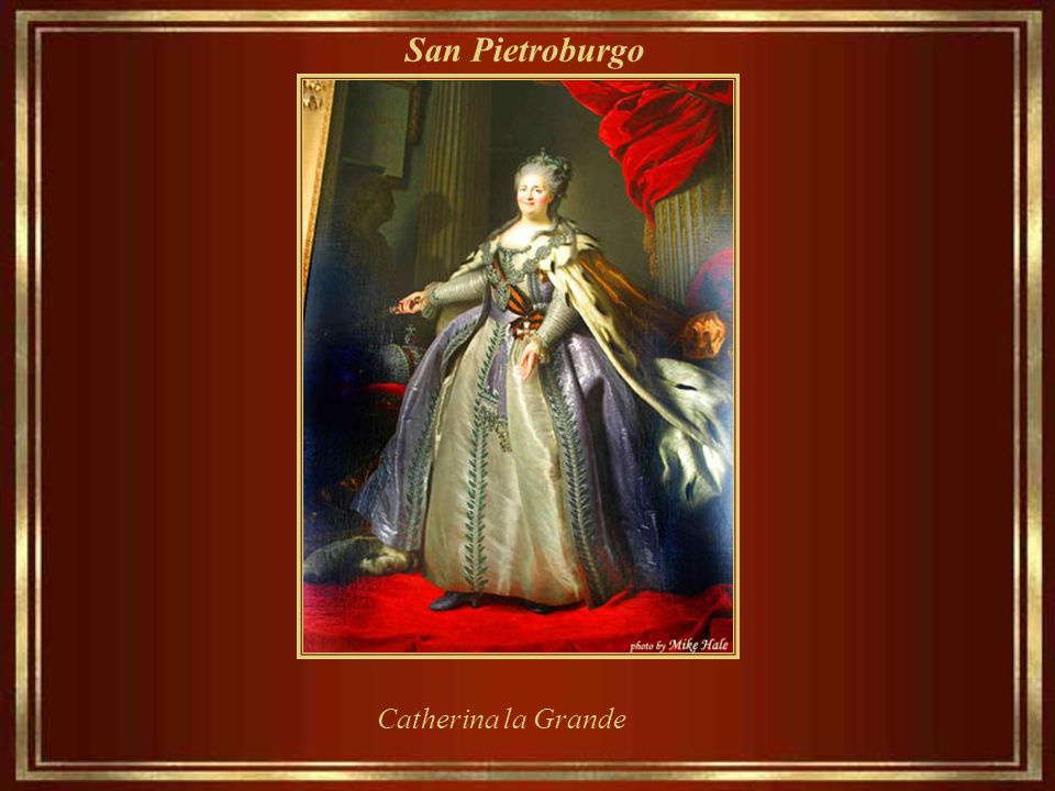 San Pietroburgo Catherina la Grande