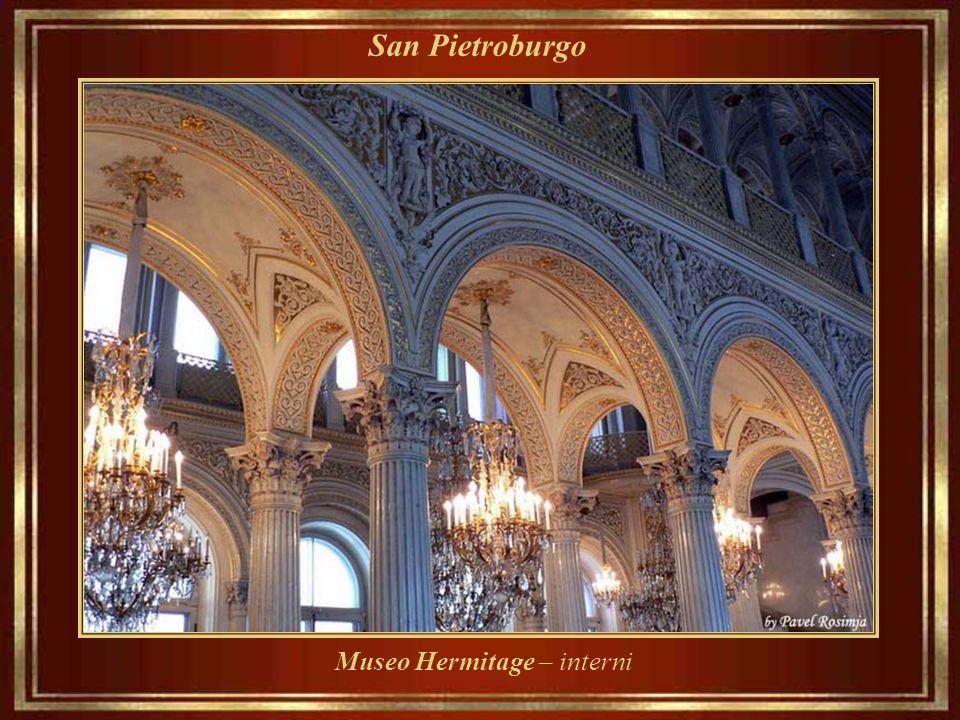 Museo Hermitage – interni