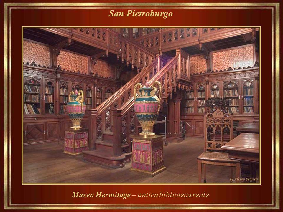 Museo Hermitage – antica biblioteca reale