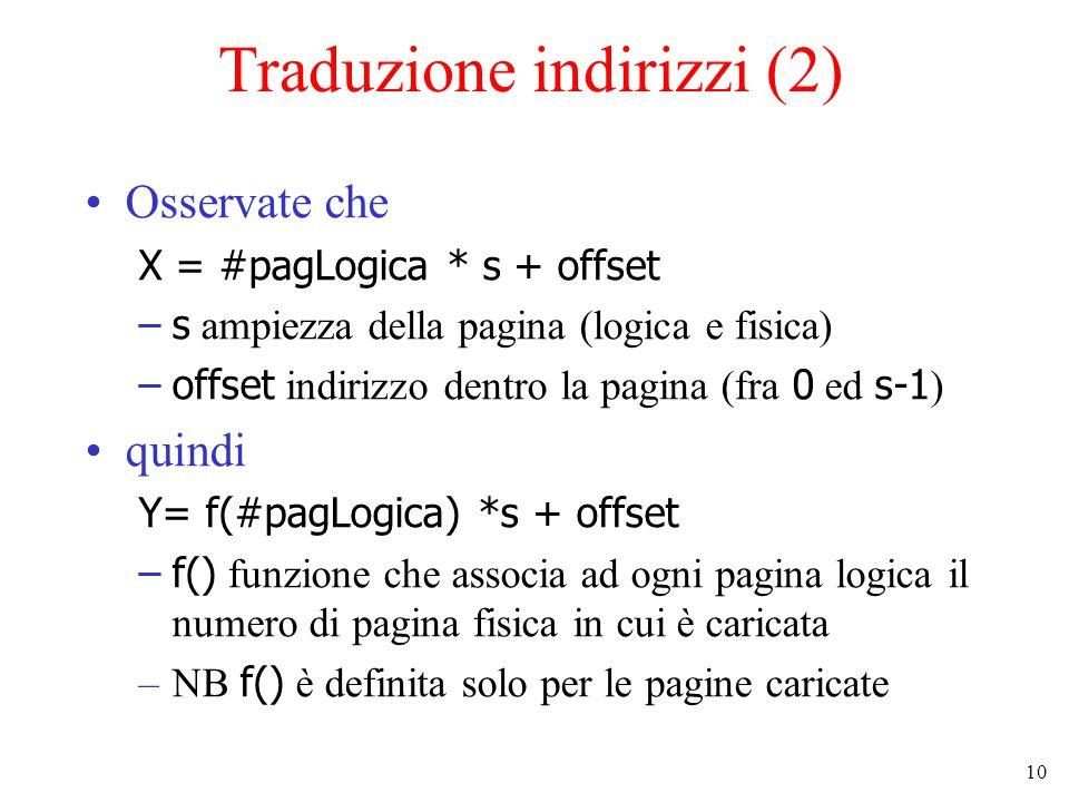 Traduzione indirizzi (2)