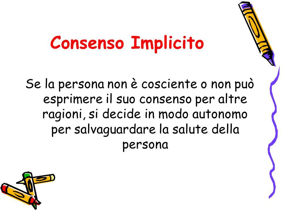 Consenso Implicito