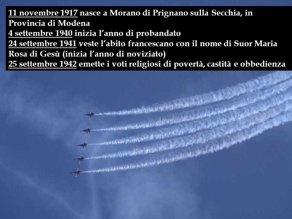 11 novembre 1917 nasce a Morano di Prignano sulla Secchia, in Provincia di Modena