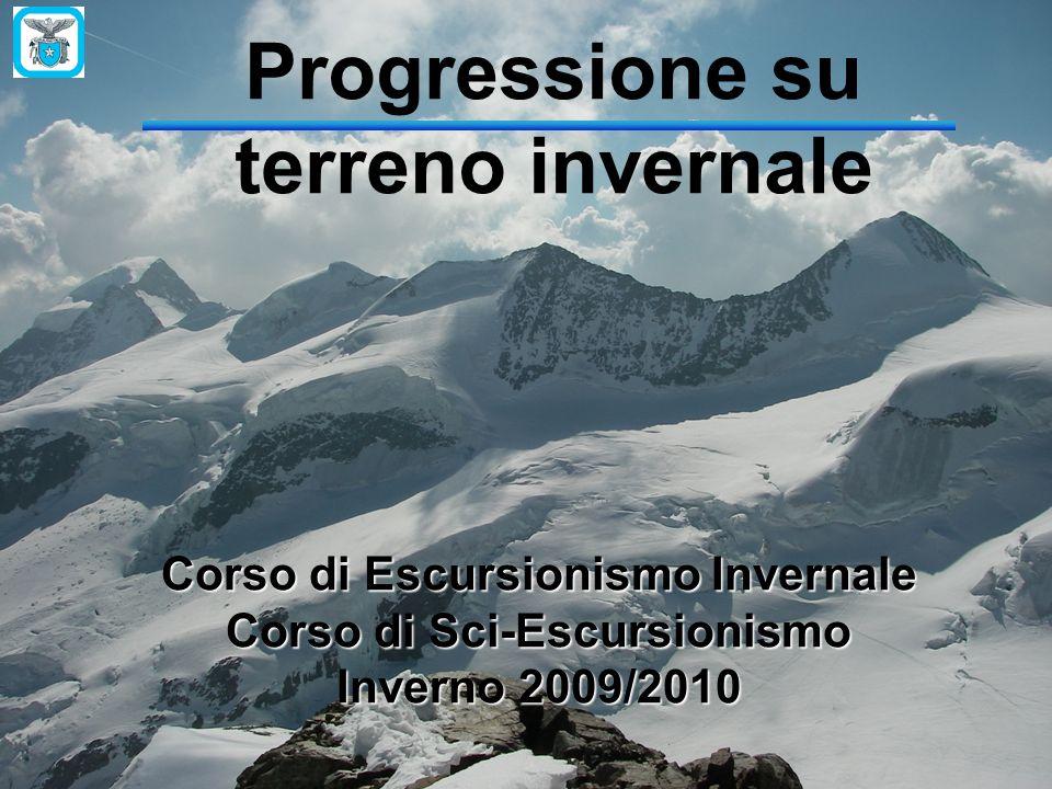 Progressione su terreno invernale