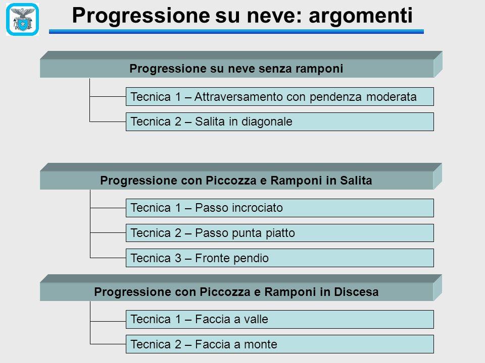 Progressione su neve: argomenti