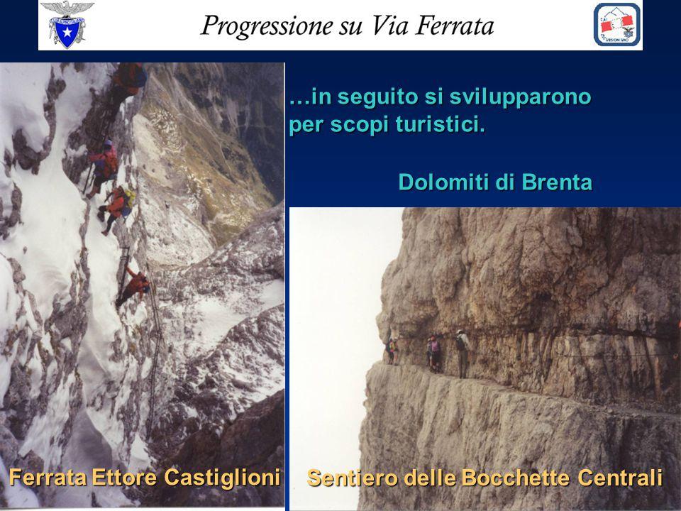 Ferrata Ettore Castiglioni Sentiero delle Bocchette Centrali