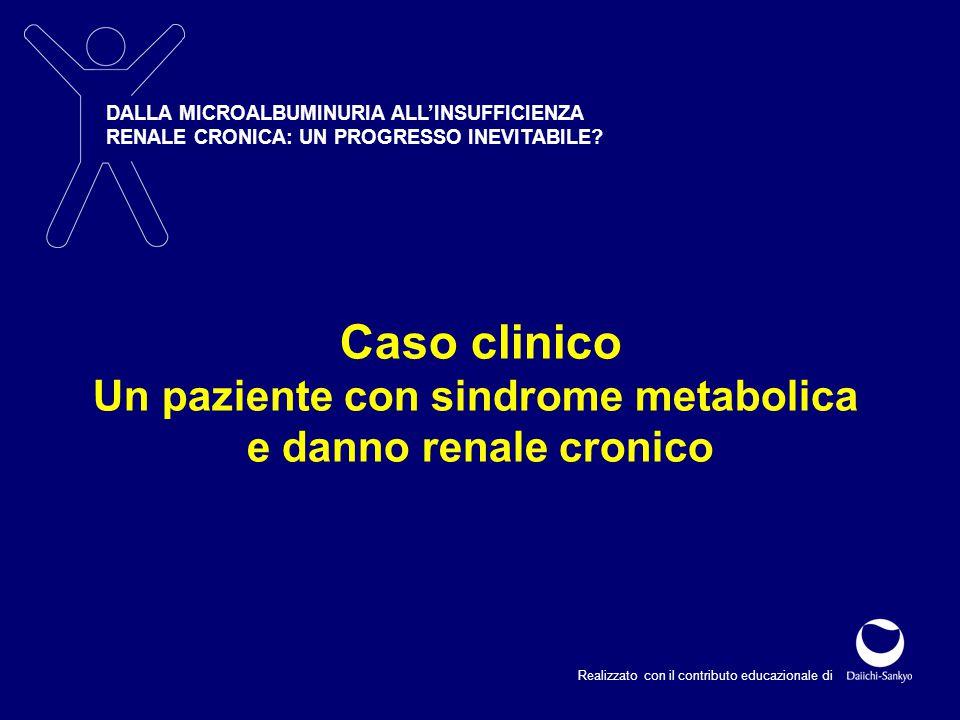 Un paziente con sindrome metabolica