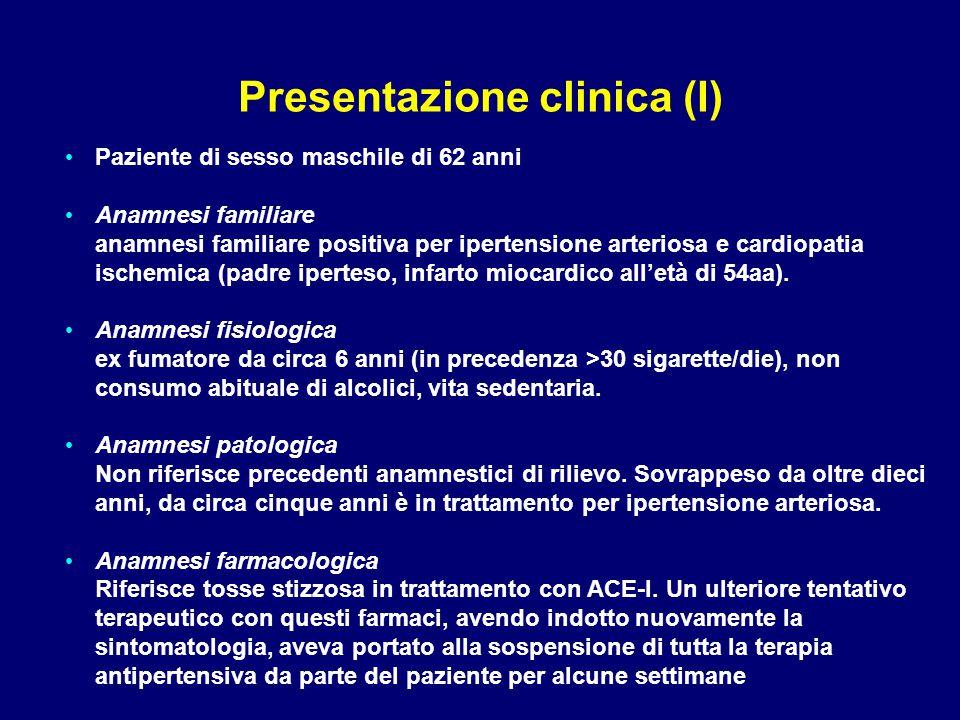 Presentazione clinica (I)