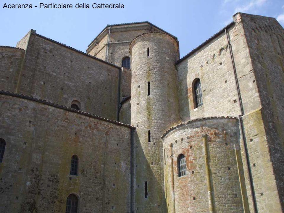 Acerenza - Particolare della Cattedrale
