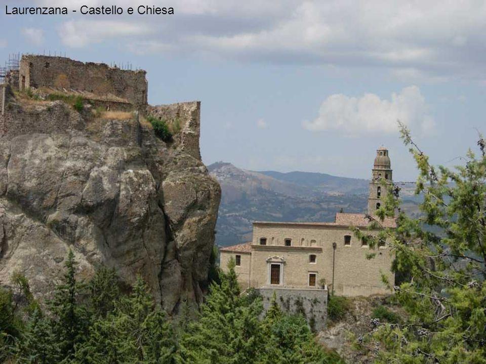 Laurenzana - Castello e Chiesa