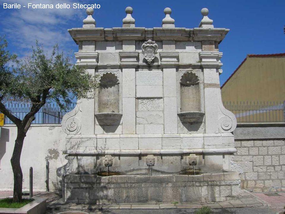 Barile - Fontana dello Steccato