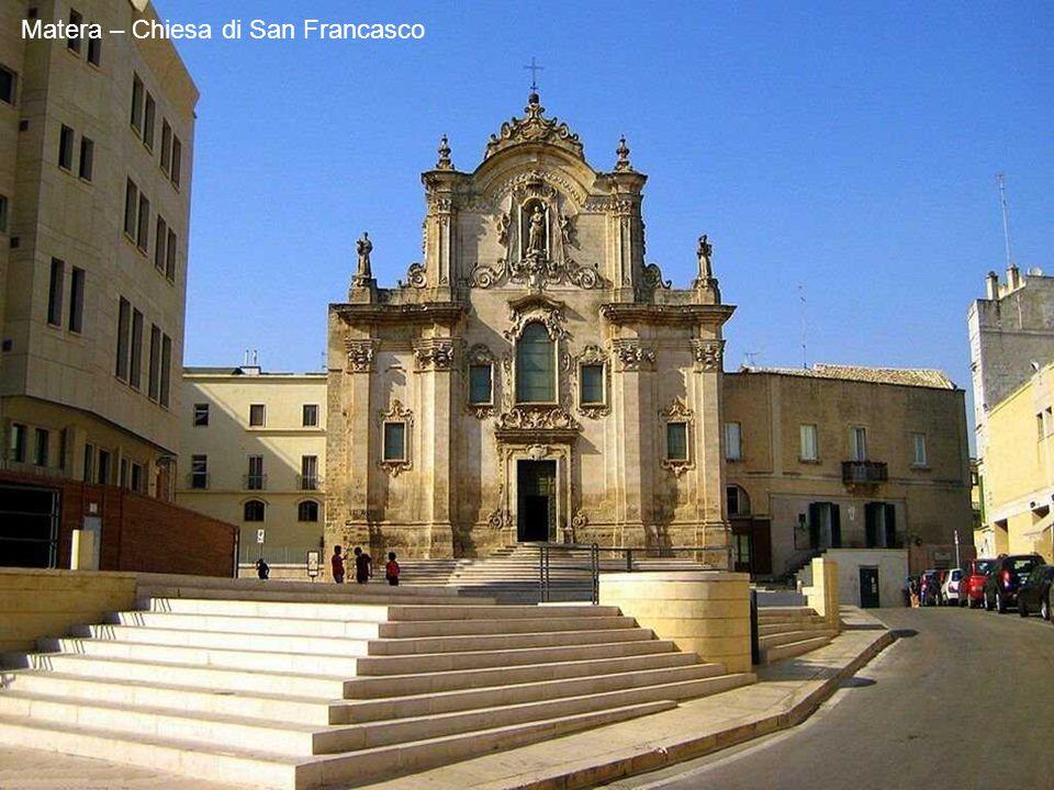 Matera – Chiesa di San Francasco