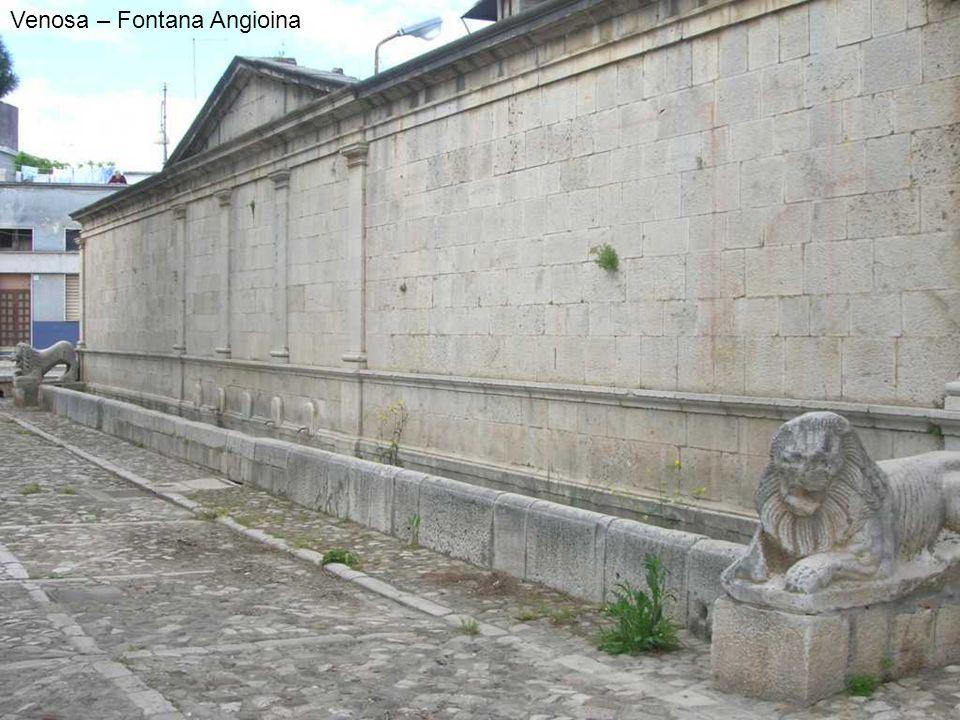 Venosa – Fontana Angioina