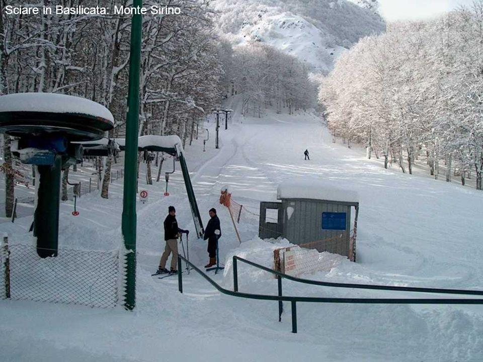 Sciare in Basilicata: Monte Sirino