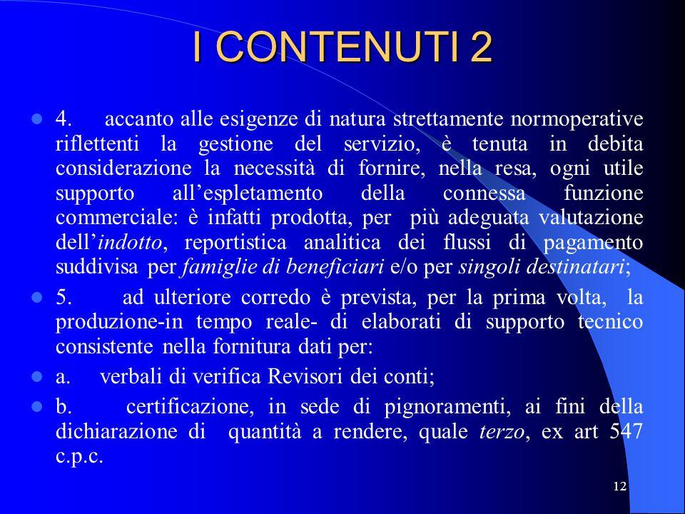 I CONTENUTI 2