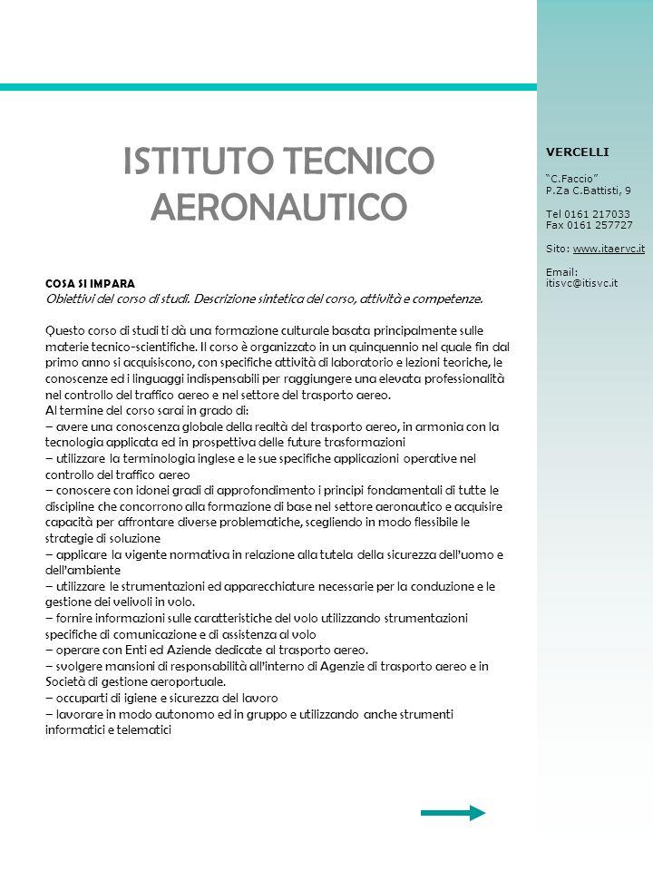 ISTITUTO TECNICO AERONAUTICO