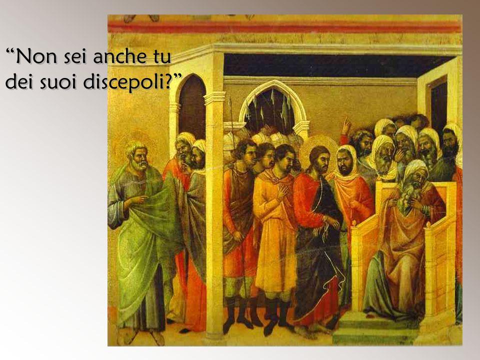 Non sei anche tu dei suoi discepoli
