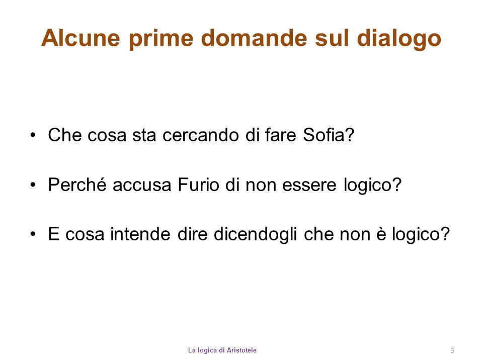 Alcune prime domande sul dialogo