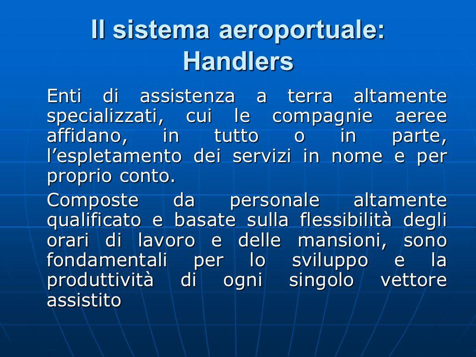 Il sistema aeroportuale: Handlers