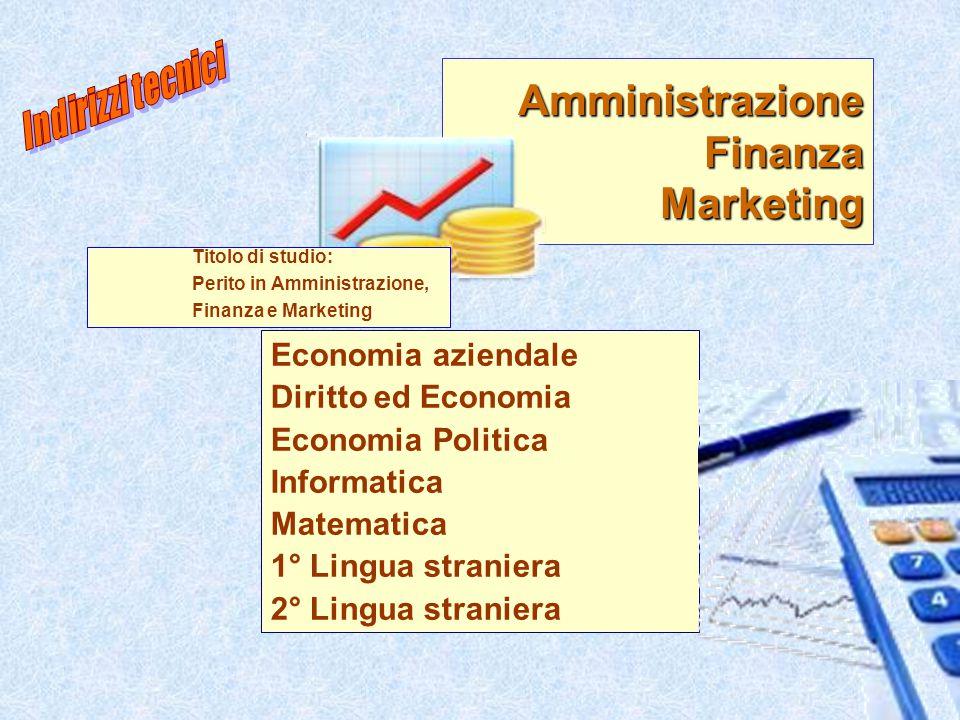 Amministrazione Finanza Marketing