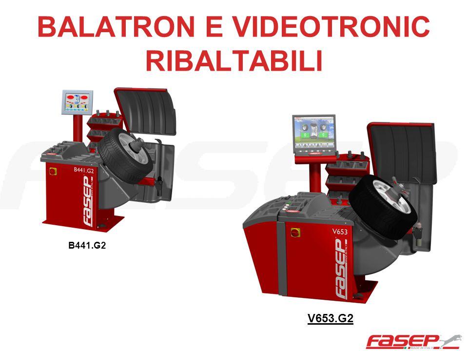 BALATRON E VIDEOTRONIC RIBALTABILI