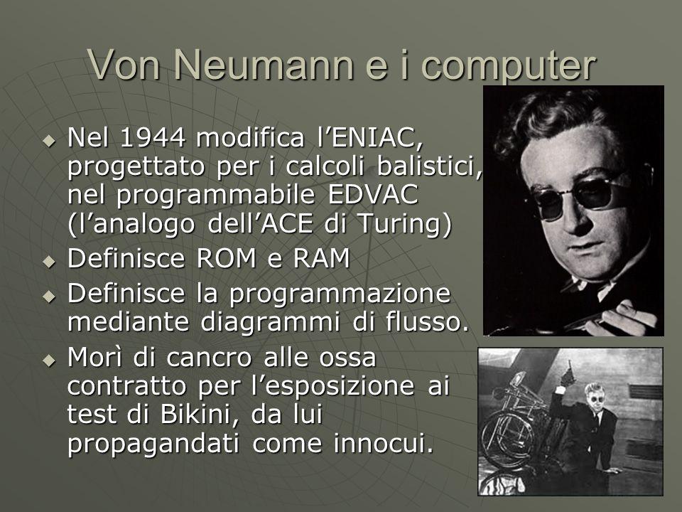 Von Neumann e i computer