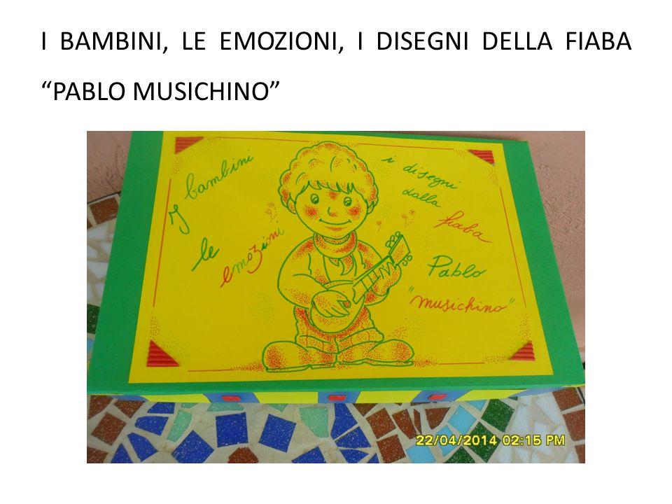 I bambini, le emozioni, i disegni della fiaba Pablo musichino