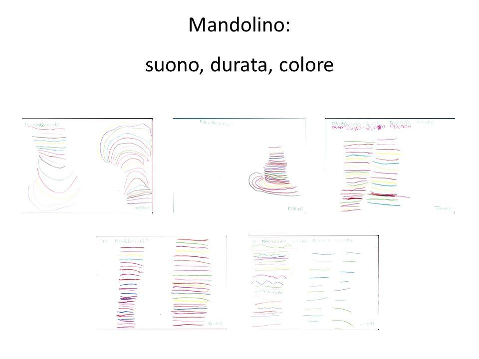Mandolino: suono, durata, colore