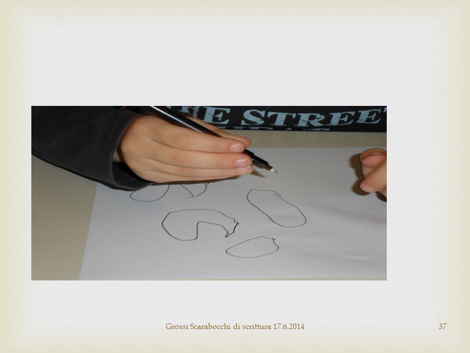 Grossi Scarabocchi di scrittura 17.6.2014
