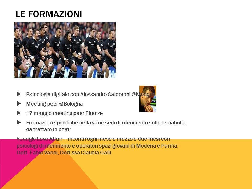 Le formazioni Psicologia digitale con Alessandro Calderoni @Modena
